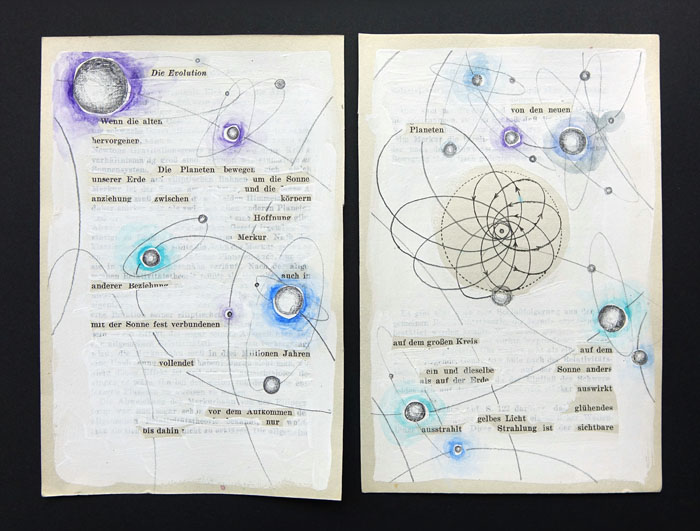 ABIOTISMUS 6, Zeichnungen, 2014
