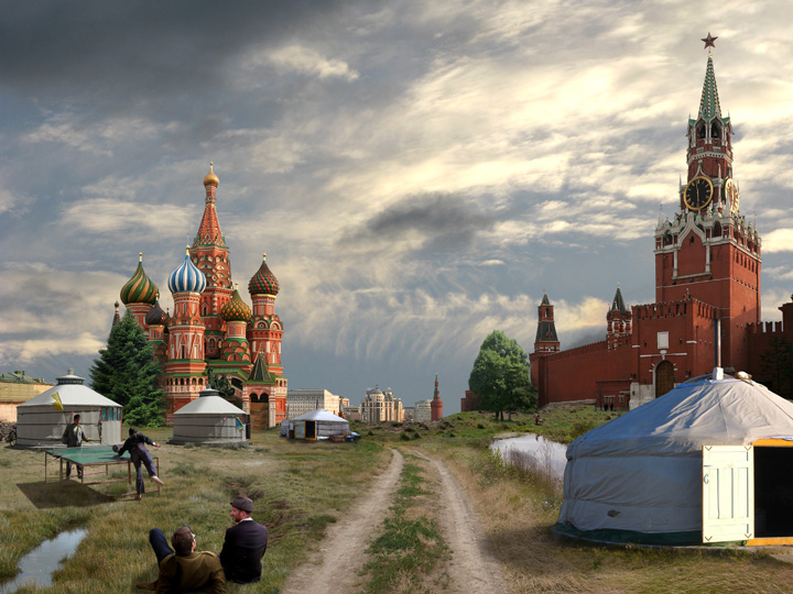 City – Moscwa/Red Square, 2010