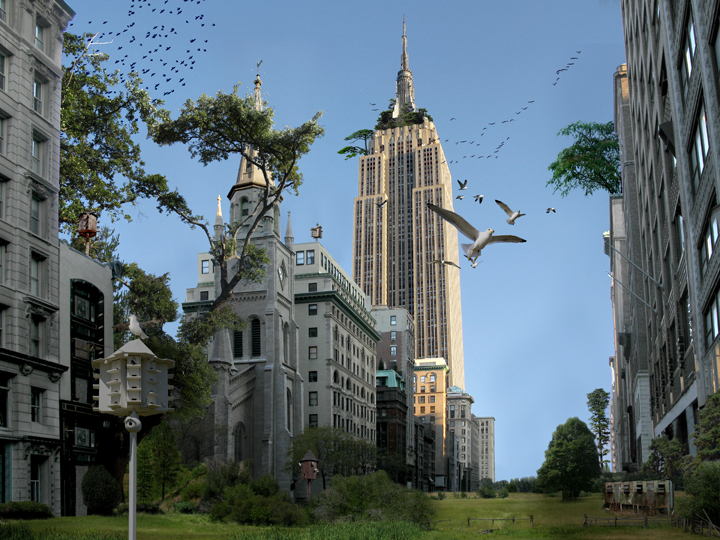 STADT – New York/Empire State Building, 2009