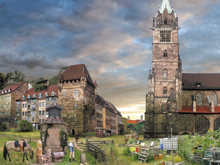 STADT – Nürnberg/Lorenzkirche, 2013