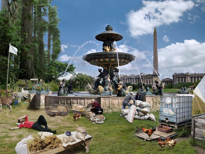 STADT – Paris/Place de la Concorde, 2013